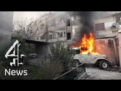 Syria: the horror of Homs, a city at war | Channel 4 News