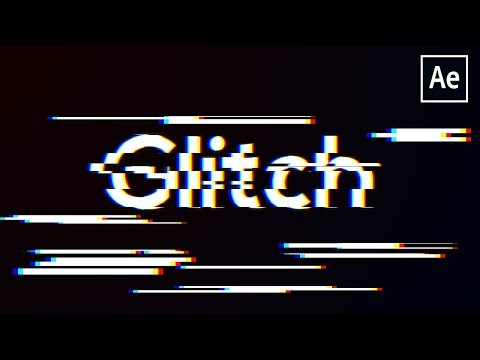After Effects Glitch Tutorial(No Plugins)