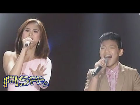 sarah - Watch as Sarah Geronimo and Darren Espanto take on the Heart classic, Alone and Bamboo and Lyca Gairanod belt out Just Give Me A Reason by Pink. Subscribe to...