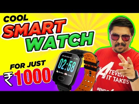 Insane smartwatch with features