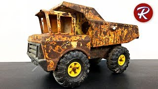 Video 1980 Mighty Tonka Dump Truck Restoration MP3, 3GP, MP4, WEBM, AVI, FLV September 2019
