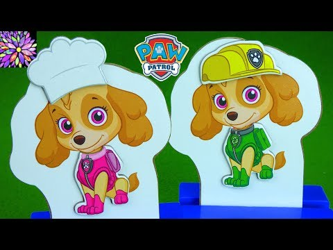 Paw Patrol Mix and Match Dress Up with Skye and Chase Toys R Us Toys Marshall Rocky Rubble Toys