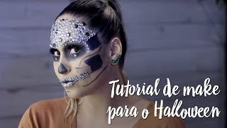 Tutorial de maquiagem para o Halloween