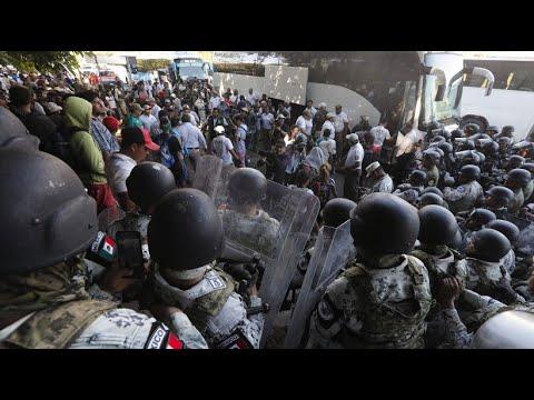 Mexiko: Gewalt an der Grenze zu Guatemala
