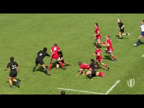 Watch Canada score epic team try at Women's Rugby World Cup