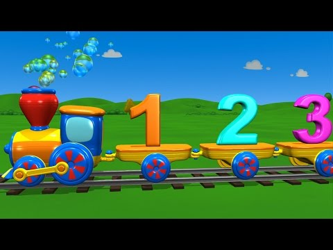 TuTiTu Learning | The Numbers Train Song
