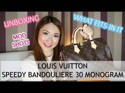 fded5ce91c95 Louis Vuitton Speedy Bandouliere 30 Monogram