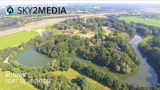 Bunnik Netherlands  city pictures gallery : Luchtvideo Drone Bunnik Fort bij Vechten Aerial Video The Netherlands Sky2Media Yuneec Q500