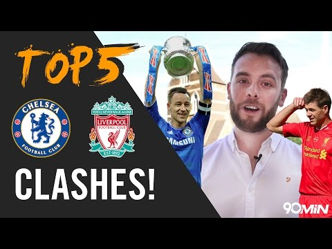 Gerrard's Slip And Garcia's Ghost Goal  | Top 5 Chelsea V Liverpool Moments!