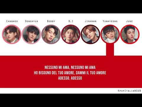 [SUB ITA] IKON - Love Me (Korean Version)