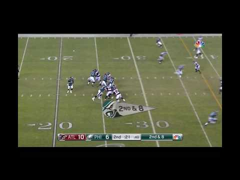 Most Insane Deflected Catch In NFL History Division Playoffs Eagles VS Falcons