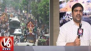 Video DGP Mahender Reddy Face To Face Over Security Arrangements For Ganesh Immersion | Hyderabad | V6 MP3, 3GP, MP4, WEBM, AVI, FLV Februari 2019