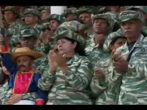 Bicentenario de Ezequiel Zamora: Discurso de Nicolás Maduro finalizando Desfile
