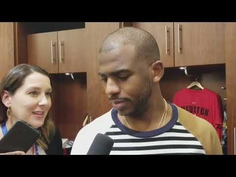 Chris Paul after Rockets win over Heat