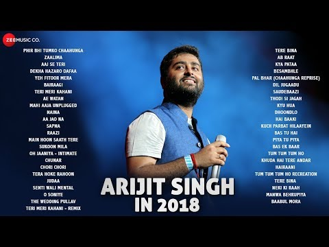 Arijit Singh in 2018 - Audio Jukebox