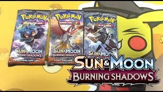 The new english set, burning shadows is here.  Today we get some of the best pulls, 2 hits from 3 packs.  I can't wait to upload my very own prerelease video very very soon! James&Chloe Collects!: https://www.youtube.com/channel/UCEvnrMw1NvXMCs0IxQJsDZAEnter the giveaway! https://gleam.io/TgOUy/the-largest-pokemon-burning-shadows-giveaway-collaboration Special thanks to our sponsor: https://overthetoptcg.com/Subscribe today and join the Pikachu Army of proud Pokemon Fans! Let's share our love for Pokemon TOGETHER! :) If you want to buy/trade for cards I have pulled in my videos please check here: http://thecavendish.tictail.com/ Want to send fan mail? All fan mail will be featured in a livestream! P.O. Box 17594Sugar Land TX 77496I'm happy to sign cards as well as long as you include an unused stamp so I can send it back! Instagram: https://instagram.com/laughingpikachu/Personal Instagram: https://instagram.com/fawcett.hannah/Twitter: https://twitter.com/LaughingPikaSnapchat: fawcetthannahDaily Vlog Channel: https://tinyurl.com/pika-vlogsIntro Created By: http://bit.ly/sleepyfx Donations are never required, but always appreciated: http://paypal.me/laughingpikachuNews Updates Playlist: http://tinyurl.com/pokemonnewsupdatesPokemon Challenge Videos: http://tinyurl.com/pikapackopeningsCrazy Fan Mail Opening Series: http://tinyurl.com/pokemonfanmail