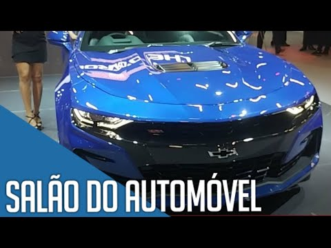 Salão do Automóvel 2018 SP - Novidades da Chevrolet