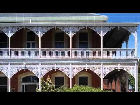 Lacework and balustrade by Chatterton Lacework Melbourne Australia