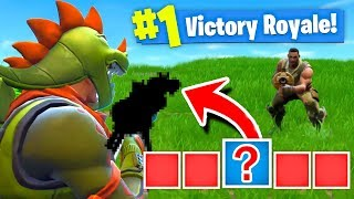 The MYSTERY GUN CHALLENGE! Fortnite: Battle Royale