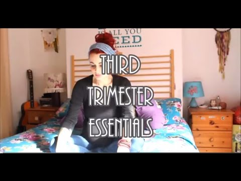 Pregnancy Diaries – Third Trimester Essentials