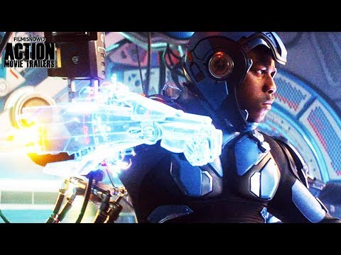 PACIFIC RIM: UPRISING | Clips and Trailer compilation for John Boyega Sci-Fi Action Movie