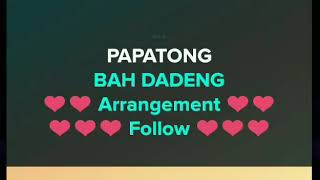 Video Papatong - Bah Dadeng | Karaoke Sunda MP3, 3GP, MP4, WEBM, AVI, FLV Oktober 2018