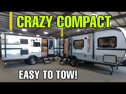 Super Compact Travel Trailers With Awesome Interiors!