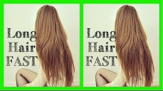 How to get LONG hair FAST (DIY Home Remedy) - YouTube