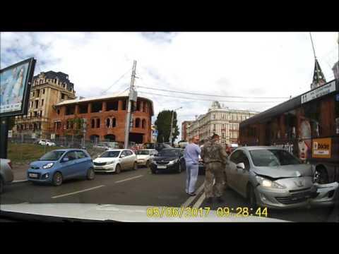 Авария в Саратове