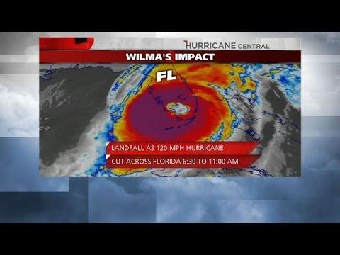 Hurricane Wilma Sets Record