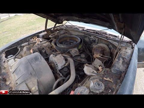 1971 Pontiac Grand Prix 400 J Barn Find!  30 years untouched! Will it run? Episode 2