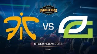 Fnatic vs OpTic - DH MASTERS Stockholm - de_train [Anishared]
