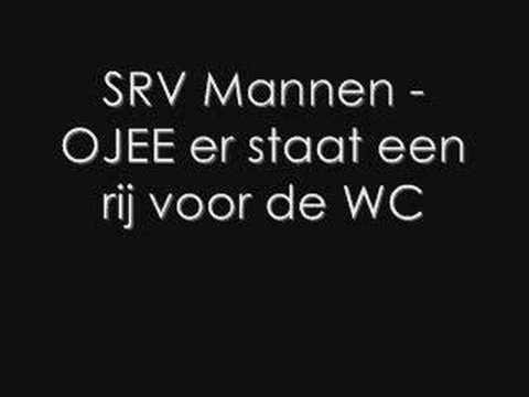 SRV Mannen - Ojee er staat een rij voor de wc