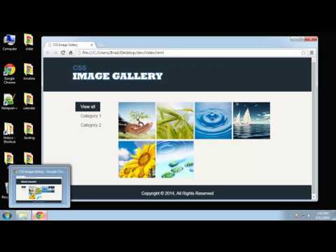 Learn to make a functional CSS3 image gallery - Part 2