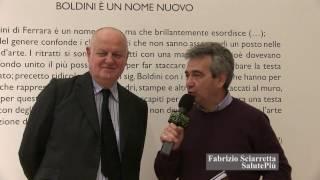 Fernando Mazzocca - docente di Storia della Critica d'Arte all'Università Statale di Milano e curatore della mostra