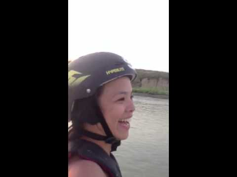 Wakeboarding with the Armor by Bubbles Bermudez-Aguilar