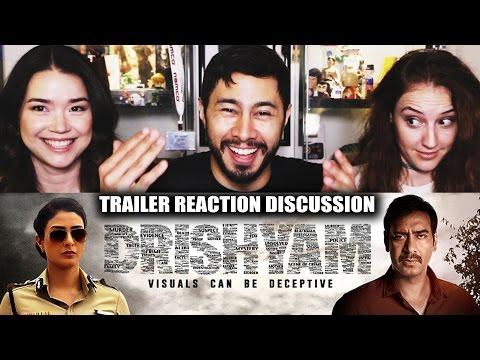 DRISHYAM   Ajay Devgn   Trailer Reaction   Jaby, Hope & Achara!