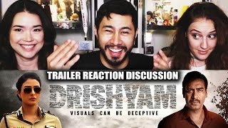 Video DRISHYAM | Ajay Devgn | Trailer Reaction | Jaby, Hope & Achara! MP3, 3GP, MP4, WEBM, AVI, FLV September 2018