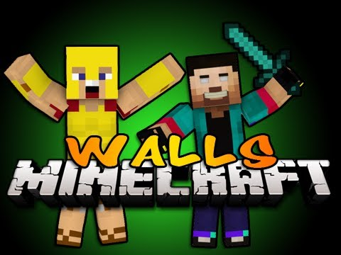 EPIC Minecraft THE WALLS /NoahCraftFTW, ChildDolphin, and Palmerater