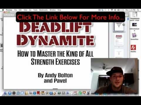 Deadlift Dynamite Review - How To Increase Your Bench, Squat, And Deadlift Fast