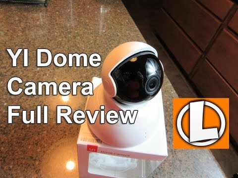 YI Dome Camera Pan/Tilt/Zoom Wireless  - Full Review, Setup, Features, Footage