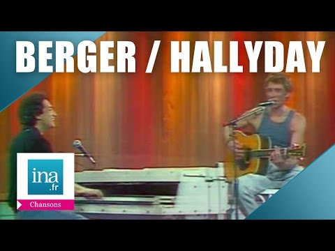 "Michel Berger et Johnny Hallyday ""Quelque chose de Tennessee"" 