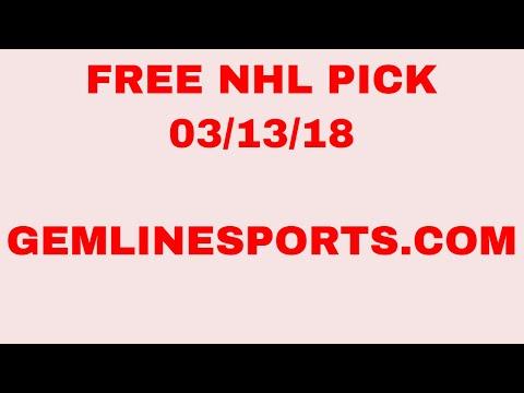 FREE NHL pick 03/13/18