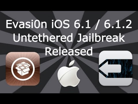 dinod7 - Please Read ▽ NEW Evasi0n iOS 6.1.2 Untethered JAILBREAK For All iDevices (Video Tutorial)http://youtu.be/fc9LxixqM3g Reputable Jailbreak Sites: ▽ Evad3rs ht...