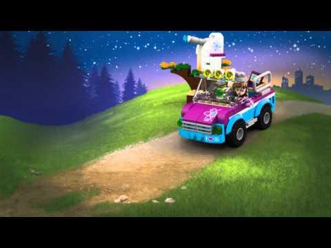 Конструктор Звездное небо Оливии - LEGO FRIENDS - фото № 8