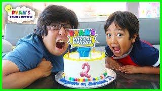 Surprise Ryan with Ryan's Mystery Playdate Season 2 on Nickelodeon!!!