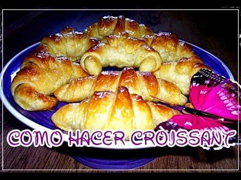 Como hacer los auténticos croissant