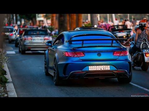 Mercedes benz s 63 amg coupe mansory фотография