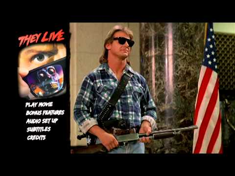 They Live [Collector's Edition] (1988) Animated Menu