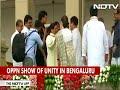 Watch: Sonia Gandhi, Mayawati Hug At Kumaraswamy Swearing-in Ceremony - Video